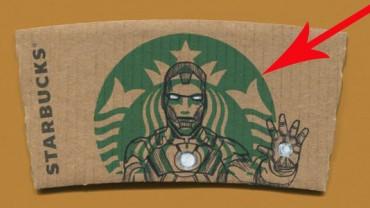 Artysta przerabia logo Starbucksa w postaci z popkultury! Niesamowite, jak niewiele potrzeba jeśli jesteś pomysłowy!