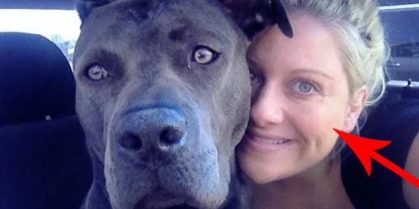 Ta kobieta uratowała pitbulla, ale nikt nie powiedział jej o tym, jakie mogą być tego konsekwencje...
