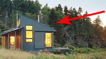 Zbudowała dla swojego ojca dom o powierzchni 51 m2. Zobaczcie niezwykłe efekty jej pracy!