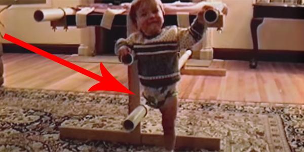 Ten chłopiec urodził się bez jednej nogi, ale nie przeszkodziło mu to stać się kimś wyjątkowym!