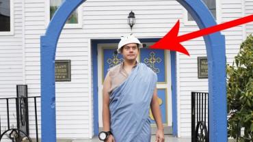 Oto wyznawca jednej z najdziwniejszych religii na świecie! Zobaczcie, jak wygląda jego życie!