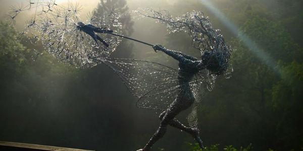 Te rzeźby powstały z wyjątkowo nietypowego materiału. Ludzka kreatywność najwyraźniej nie zna granic!