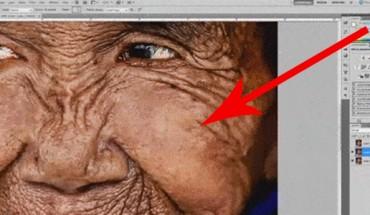Używając Photoshopa, przywrócił tej kobiecie młodość! Zobacz, jak tego dokonał!