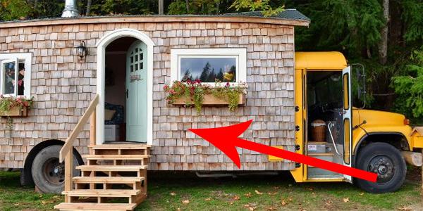 Nie uwierzysz, co można zrobić ze starego szkolnego autobusu! Tym ludziom udało się stworzyć coś fantastycznego!