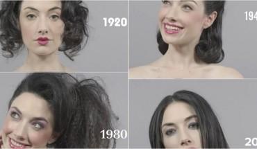 Oto jak zmieniła się moda i makijaż na przestrzeni lat.
