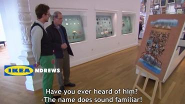 Popatrzcie, jak poważni znawcy sztuki zareagowali na obraz z Ikei. Ich reakcja wprawi was w osłupienie!