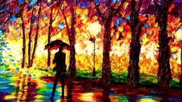 Niewidomy malarz zaufał swojemu dotykowi i tworzy oszałamiające obrazy!