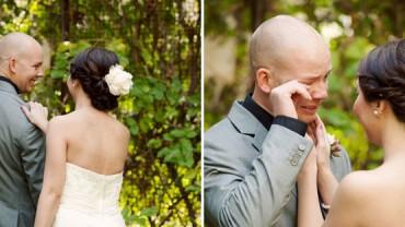 Wzruszenie przyszłych mężów na widok swoich przyszłych żon jest bezcenne…
