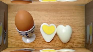 Prosty sposób na jajko w kształcie serca. Zobacz, jak je zrobić!