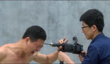 Mistrz Kung Fu vs wiertarka. Uwaga! Wstrząsające!