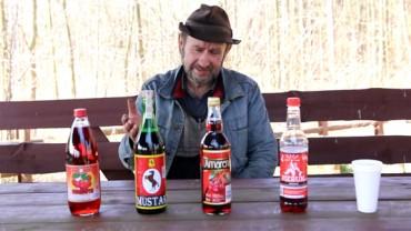 Zobacz niecodzienny test win… w roli sommeliera wybitny znawca smaków pan Wiesław!