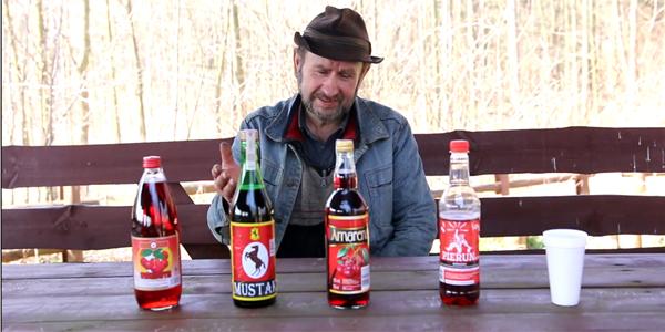 Zobacz niecodzienny test win... w roli sommeliera wybitny znawca smaków pan Wiesław!
