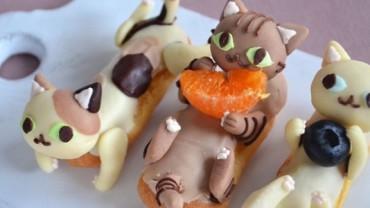 Uwielbiasz koty i słodycze? Zobacz koniecznie najnowszy pomysł japońskiej blogerki, a będziesz zachwycony!