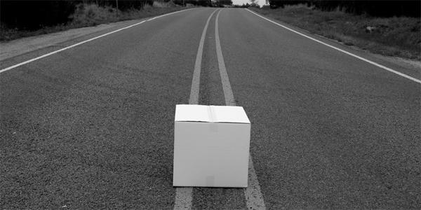 Dwaj funkcjonariusze policji znaleźli zamknięte kartonowe pudełko. Kiedy zajrzeli do środka, nie mogli uwierzyć własnym oczom...
