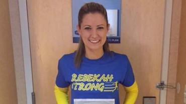 Ranna w wybuchu kobieta straciła nogę. Po dwóch latach wzięła udział w maratonie! Zobacz poruszającą historię Rebeki!