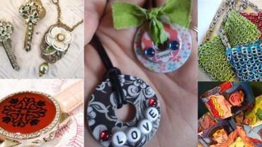 15 sposobów, jak zrobić recyklingową biżuterię! Zobacz, w jaki sposób śmieci przerobić na małe skarby!