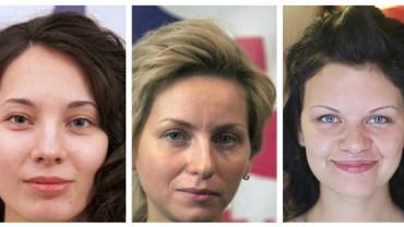 17 przykładów pokazujących, jak makijaż zmienia kobietę. Może już czas wyleczyć się z kompleksów? :)