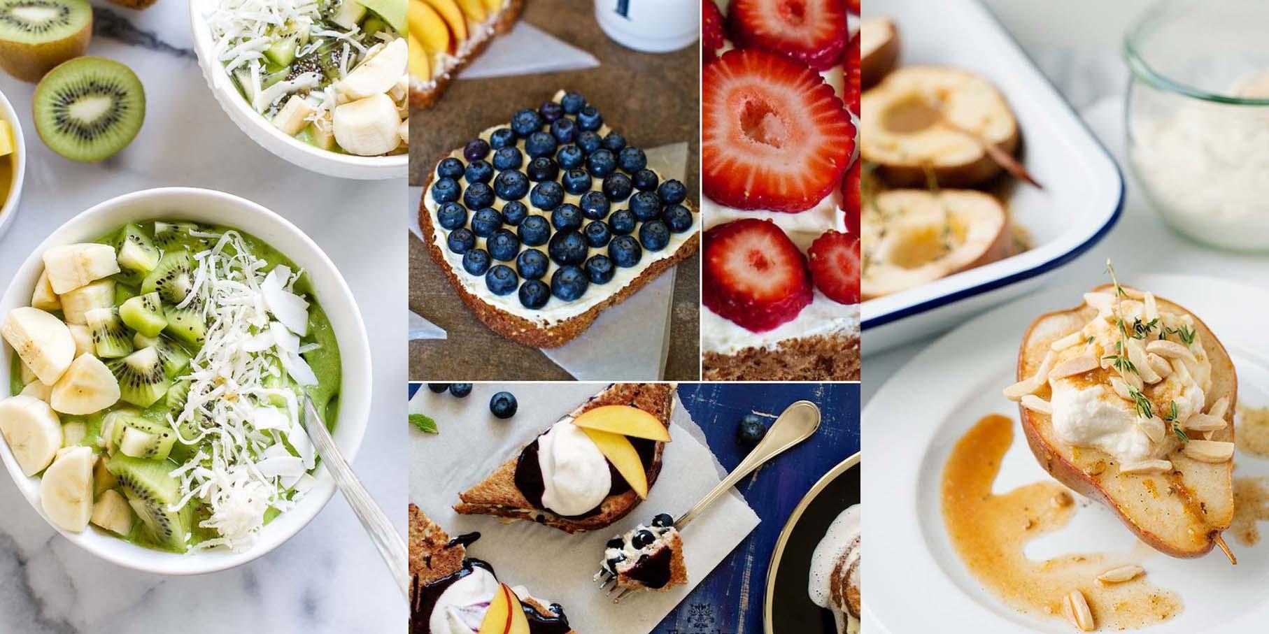 Masz dosyć ciężkostrawnych, oklepanych śniadań? Świetnie trafiłeś - tych 15 pomysłów na owocowe śniadania zmieni Twoje życie!