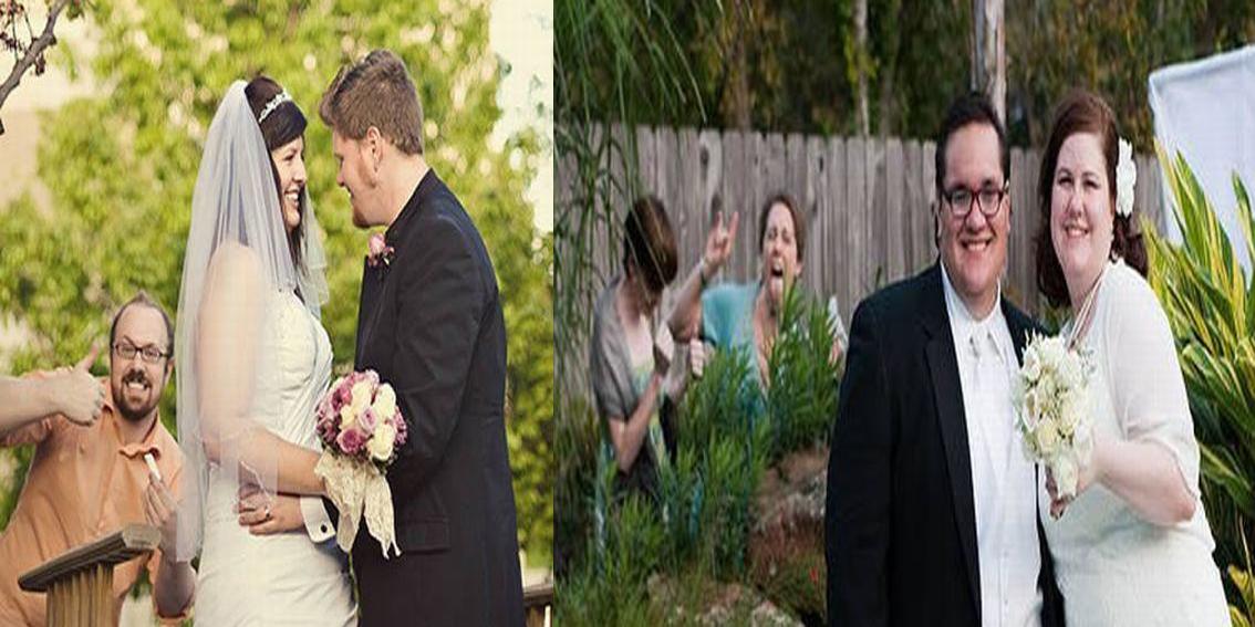 28 zdjęć ślubnych, na których to nie Państwo Młodzi są mistrzami ceremonii...