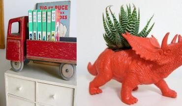 22 pomysły na ponowne wykorzystanie zabawek w nieco innej formie