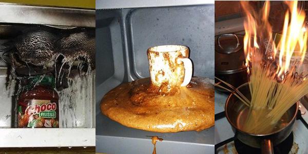 Poznaj 10 przypadków ludzi, którzy nie powinni wchodzić do kuchni!