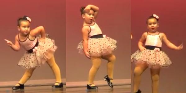 Ta kilkulatka tańczy do piosenki Arethy Franklin tak, że uśmiech nie zejdzie ci z ust!