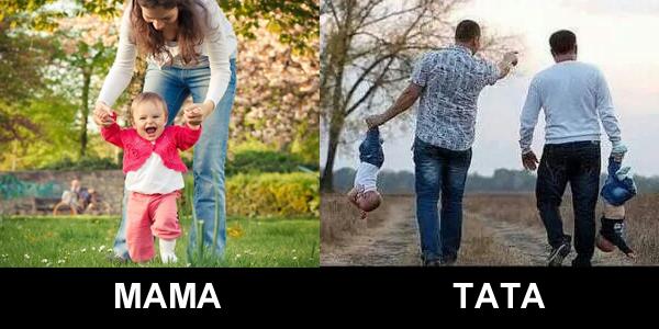 15 różnic między matką i ojcem. Nr 8 jest najmocniejszy!