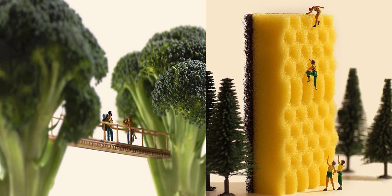 Ten japoński artysta tworzy miniaturowe arcydzieła z przedmiotów codziennego użytku