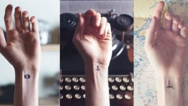 Mini tatuaże, które zdradzają ludzkie pasje. Są po prostu śliczne!
