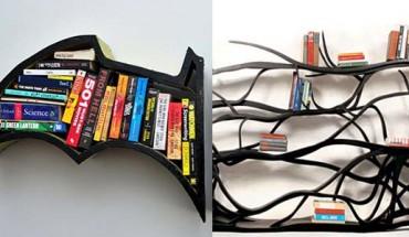 12 niesamowicie kreatywnych półek na książki!