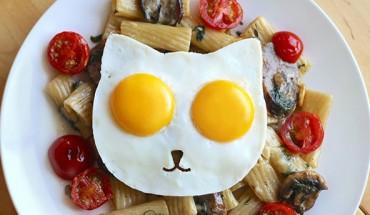 Jajko sadzone w formie głowy kota? Da, się i to jak prosto!