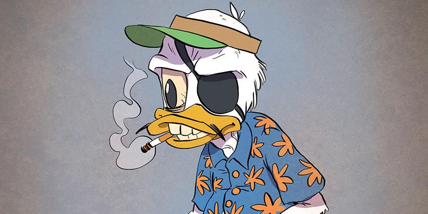 Czy zastanawialiście się jak wyglądałyby ulubione z kreskówek postacie na emeryturze? Ten artysta postanowił nam to pokazać!