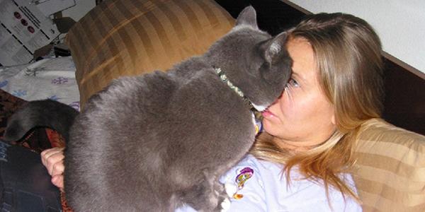 Te koty nie rozumieją pojęcia przestrzeni osobistej!