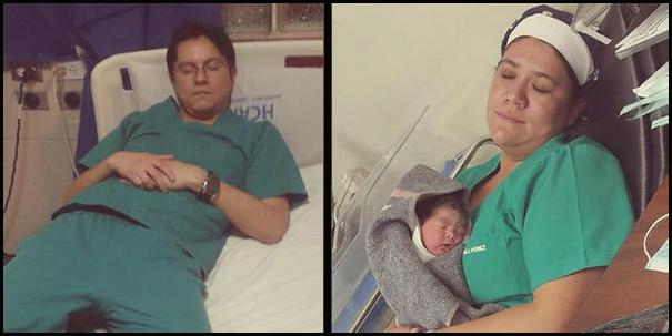 Pacjent sfotografował śpiącego lekarza, po czym skrytykował go za to na Twiterze... To zajście spowodowało pewne zjawisko...