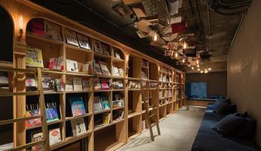 Hotel-biblioteka w jednym, takie rzeczy tylko w Japonii…