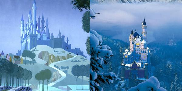 Realne miejsca, które inspirowały Disneya