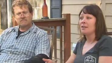 Gdy zmarł jej mąż zamieszkała z bezdomnym!