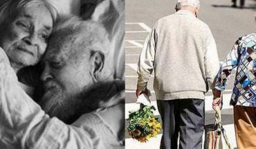 Zdjęcia, które udowadniają, że prawdziwa miłość zdarza się w każdym wieku i trwa do grobowej deski. Wzruszające…