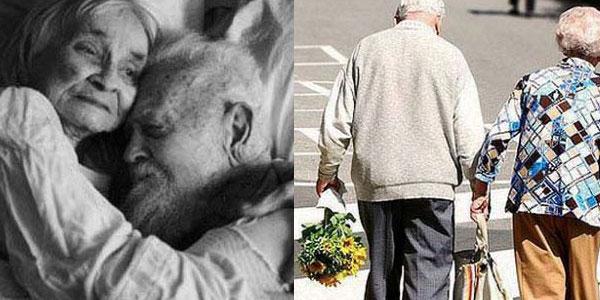 Zdjęcia, które udowadniają, że prawdziwa miłość zdarza się w każdym wieku i trwa do grobowej deski. Wzruszające...