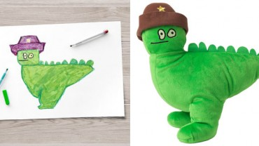 IKEA stworzyła zabawki zaprojektowane przez dzieci z całego świata!