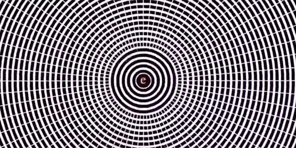 Skup wzrok na tej malutkiej literze, a następnie rozejrzyj się dookoła. Widzisz, co się dzieje?