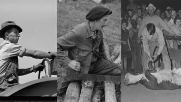 17 fotografii, które udowodnią, że pokolenie ludzi z lat 30. i 40. było większymi hardkorami, niż nam możne się marzyć!