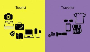 10 różnic między turystą a podróżnikiem