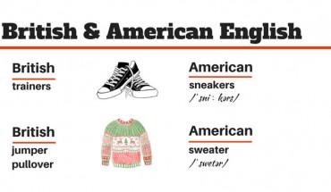 British vs American English. Poznaj różnice!