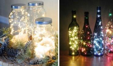 Kilka fantastycznych sposobów na użycie lampek choinkowych. Zobacz, jak możesz je wykorzystać!