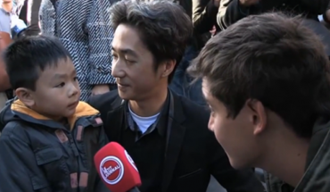 Chłopiec był bardzo przestraszony, ale jego tata we wspaniały sposób rozwiał jego obawy