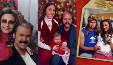 Rodzina z wielkim poczuciem humoru co roku wysyła kartki do znajomych