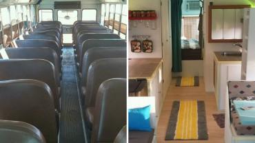 Zdecydował się zakupić autobus, przekształcić go na kampera i spędzić życie podróżując!