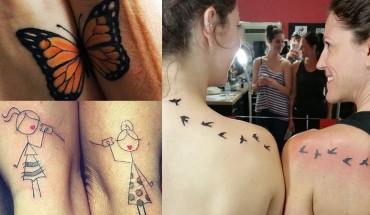 15 tatuaży matek i córek, które pokazują ich niezwykłą więź