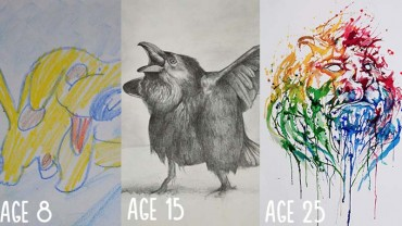 Młodzi rysownicy i malarze pochwalili się tajemnicą swojego sukcesu!